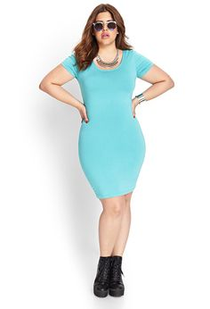 Classic Bodycon Dress - Sale - 2000085602 - Forever 21 UK