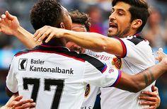 Der FC Basel unterstreicht in Bern nochmals seine Überlegenheit. Die Basler gewinnen den bedeutungslosen Spitzenkampf gegen die Young Boys dank drei Toren in der ersten Halbzeit mit 3:2.
