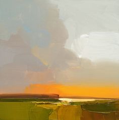 "smaller works 10 x10 inches               LANDSCAPE #100     2014     10""x10""     Oil on wood  SOLD              LANDSCAPE #101     20..."