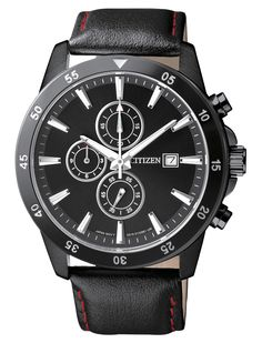 CITIZEN QUARTZ MEN'S CHRONOGRAPH WATCH w/ DATE, AN3575-03E CITIZEN QUARTZ: Citizen Quartz watches contain the same High Quality Manufacturing, Beauty, and Style as the higher-end Citizen Eco-Drive models, but at a much lower price. Powered by standard battery technology, the Citizen Quartz watches are Reliable and Easy to Maintain. FEATURES: [...]