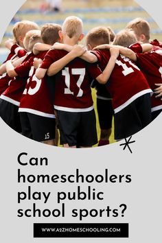 Can homeschoolers play public school sports? Health Resources, Health Education, Physical Education, What Is Homeschooling, Homeschool Blogs, School Sports, Public School, Play, This Or That Questions