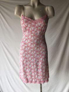 Victoria secret lace trim jersey dress