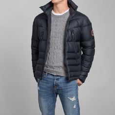 Mens Pine Point Trail Puffer Jacket | Mens Outerwear | Abercrombie.com