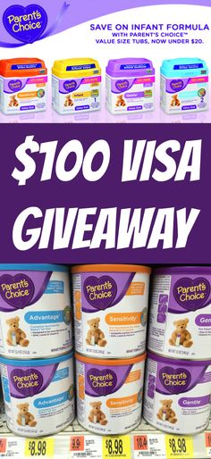 Want to win a $100 Visa gift card?  Enter the ParentsChoice Sweepstakes daily: CLICK HERE---> http://freebies4mom.com/parentschoice ad (ends Dec. 30)