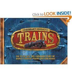 Legendary Journeys: Trains: Philip Steele, Sebastian Quigley: 9780753464656: Amazon.com: Books