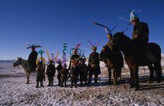 Addi Somekh, Mongolian Horsemen, 2013