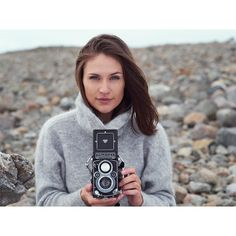 When the model steals your Rolleiflex camera during the shoot it's a good thing to bring a backup....