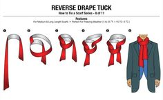 No more effeminate scarf tying for you this year! Real Men Real Style has released 11 different ways to tie a scarf, the manly way. Need to warm the chest with that scarf without feeling less of a man? You'll need the Chest Warmer tie with a long length scarf. Want to know how to […]