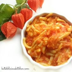 Yellow Zucchini & Tomato Sauce This dish is ok to serve to babies who are 8 months+ due to the acidity of the tomatoes. Some days when I am too tired to cook, I keep reminding myself that it&#8…
