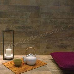 Porcelanato Alberdi - MADERA PATINADA 57,5X57,5 #porcelanato  #alberdi #revestirydecorar #piso #pared #revestimiento  #decoracion