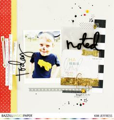 Fun layout using Bazzill cardstock and the Fuse tool from We R Memory Keepers @kimjeffress @bazzillbasics  #bazzillbasics #heidiiswapp #wrmkfuse @wermemorykeepers