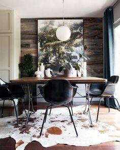 Sala de jantar num estilo rústico e   WEBSTA - Instagram Analytics