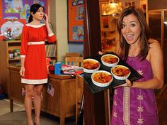 I really, really want that orange dress. And basically all other outfits that she wears. Lily Aldrin/Alyson Hannigan. HIMYM