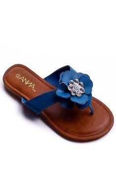 floral flip flop
