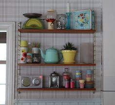In my 50s kitchen by Underbaraclaras, via Flickr