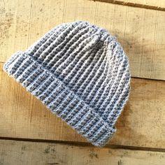 Short Beanie MarV Hat in Urban Grey  - handmade crochet in 100% soft superwash yarn by TheManchesterBee on Etsy https://www.etsy.com/uk/listing/496482678/short-beanie-marv-hat-in-urban-grey