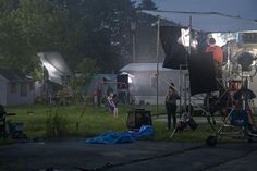 Gregory Crewdson  - Uses the narrative combined with beautiful photography