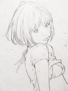 サラサラッとラクガキしてから本日もお仕事!by Eisaku
