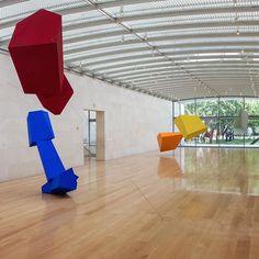 Last chance to visit Joel Shapiro at the Nasher, which closes today. #JoelShapiro #NasherSculptureCenter