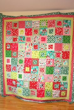Christmas Quilt Top | Flickr - Photo Sharing!