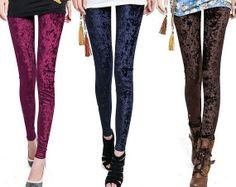 4 colors VELVET leggings women leggings