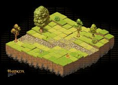 Lane Brown Art: Isometric Game Art