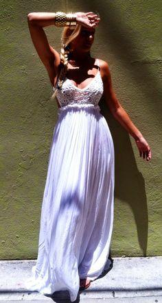 See more Bocha Leche Low Back Maxi Dress