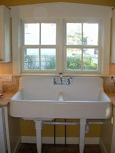 Beautiful Solid Cast Iron Kitchen Sink   LOVE It!
