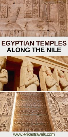 This guide to the Egyptian temples along the Nile highlights some of the most incredible Ancient Egyptian temples in Egypt. Karnak Temple. Kom Ombo Temple. Edfu Temple. Luxor Temple. #Egypt Egyptian Temple, Luxor Temple, Egypt Travel, Africa Travel, African Vacation, Air Balloon Rides, Valley Of The Kings, North Africa, Plan Your Trip