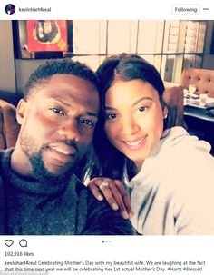 New news: Kevin Hart's wife Eniko Parrish is pregnant. The couple made the announcement on social media on Sunday, which is Mother's Day