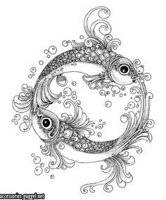 PISCES~~~ on Pinterest | Pisces, Pisces Tattoos and Fish