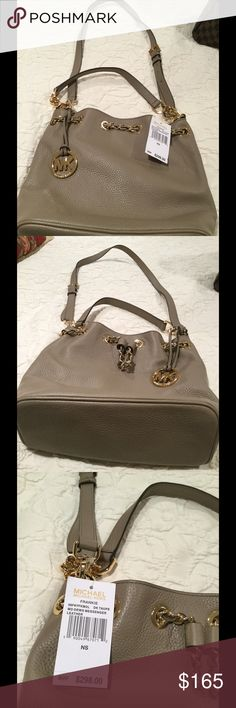 "Michael Kors crossbody bag Michael Kors  "" Frankie Md. drawstring  messenger or crossbody bag.     Brand new with tag ( retail $298)                            Measurements: 12 x 9 x 4 "" made of leather Michael Kors Bags Crossbody Bags"