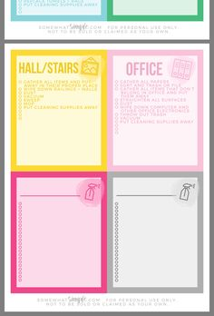 Cleaning Checklist, Cleaning Hacks, Cleaning Supplies, Professional House Cleaning, All Paper, Clean House, Bullet Journal, Surface, Organizing