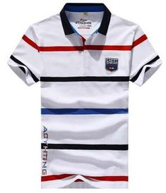 Buy from us Men's Style Polo Shirts fashion Summer short sleeve. Get a discount for the entire collection Men's Style Polo Shirts . Polo T Shirts, Golf Shirts, Boys Summer Outfits, Boys Wear, Cheap T Shirts, Mens Tees, Shirt Style, Mens Fashion, Style Summer