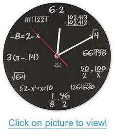 Pop Quiz Clock Home #Office #Lighting #Clocks