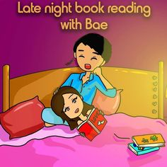 We love this What are you doing to keep busy during ? Relatable enough ?😝 Mention your bae😉❤️ Credits- . Love Is In The Air, My Love, Night Book, Bae Goals, He Loves Me, Late Nights, Bart Simpson, More Fun, Books To Read