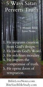 5 Ways Satan Perverts the Truth of God