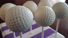 Golf ball cake pops have always intrigued me… I wondered how you could make them with the dimples?! Share this:PrintPinterestFacebookTwitterGoogle