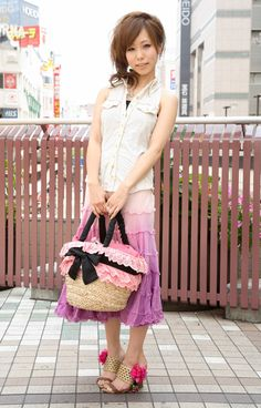 ストリートファッションフォト in ルミネ町田・ショップスタッフ   アパレルウェブ