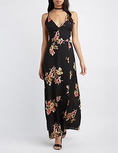 Maxi Dresses: Halter & Strapless Maxis | Charlotte Russe