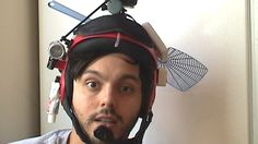 This Guy Invented A Do-Everything Helmet That May Or May Not Actually Do Everything