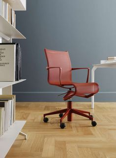 rollingframe by Alberto Meda coral red