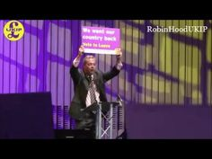 We want our Country back! Nigel Farage Brexit speech
