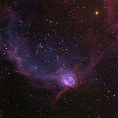 The Flying Lizard Nebula, NGC 602   space things