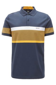 d9714bda4 Slim Fit Polo Shirts, Colour Block, Color Blocking, Hugo Boss, Carpe Diem