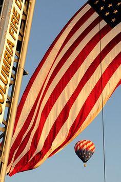 Patriotic photo by Columbia Daily Tribune Photographer Ryan Henriksen Missouri, Columbia, Sky, Gallery, Photography, Heaven, Photograph, Roof Rack, Heavens