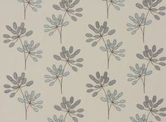 Lena Washable Ocean - Astrid : Villanova Upholstery Fabrics, Prints, Drapes & Wallcoverings