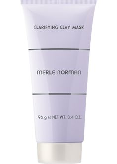 Merle Norman Clarifying Clay Mask For Normal to Oily skin types. Control oil and unclog pores by going to the matte with this skin-refining mask! Kaolin Clay draws out impurities and minimizes the appearance of pores. It glides on smoothly to provide a deep-down clean feeling while eliminating excess oil. Leaves skin brighter, refined and radiant for a healthy-looking appearance. Oil-free. Non-acnegenic. Non-comedogenic.