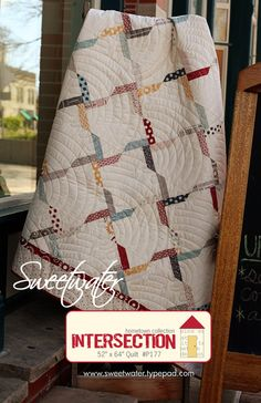 Sweetwater  Intersection Quilt Pattern  FREE by QuiltEssentials