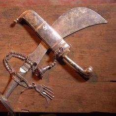 Kodava weapons - Odi Kathi and Peeche Kathi